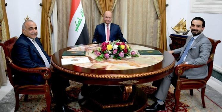 واکنش رؤسای سه گانه عراق به حمله به پایگاه التاجی بغداد