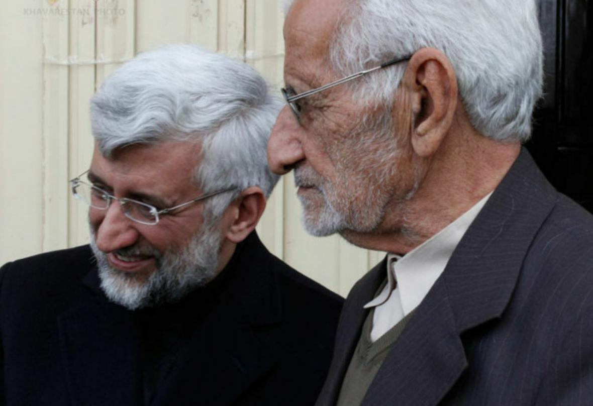 خبرنگاران ظریف درگذشت پدر سعید جلیلی را تسلیت گفت