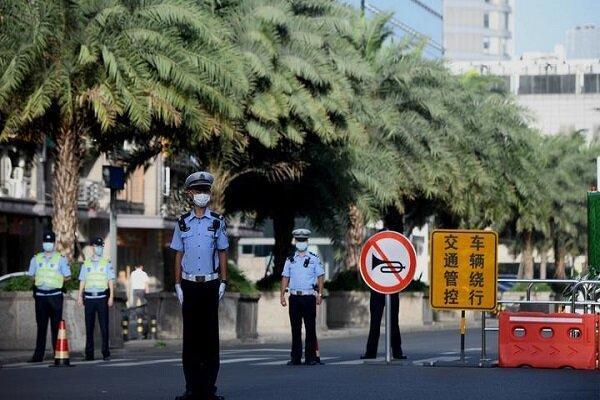 پرچم چین بر فراز کنسولگری آمریکا در چنگدو برافراشته شد