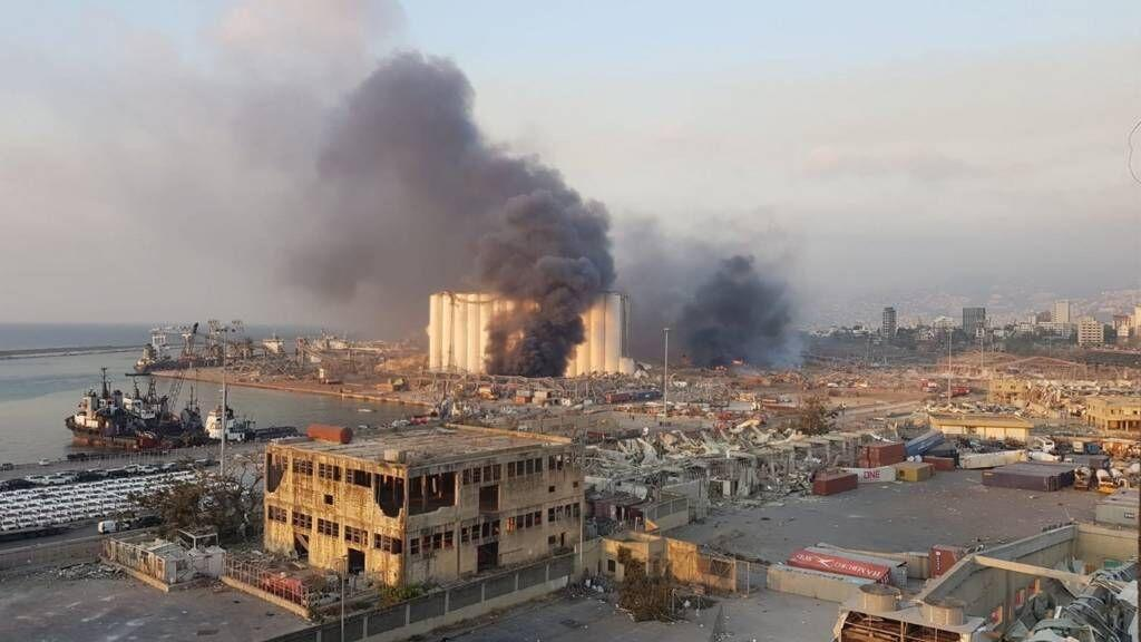 خبرنگاران واکنش وزارت خارجه آمریکا به انفجار در بیروت