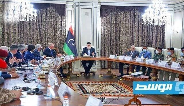 لیبی، مذاکرات امنیتی و نظامی فایز السراج با آمریکایی ها